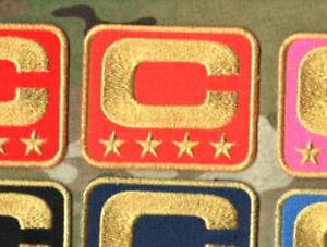SUPERBOWL DENVER BRONCOS CAPTAINS ORANGE FOUR-STAR 4-STAR JERSEY GOLD C-PATCH
