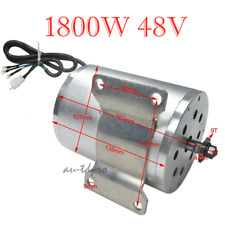 1800W 48V DC Brushless Electric Motor Quad Electric Bike Scooter 4300-4500RPM