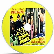The Lady In The Death house Black And White Public Domain film Converted To DVD