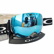 Oakley Flight Deck Snow Goggles Matte Black PRIZM Sapphire Iridium Ski Snowboard