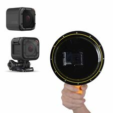 Generic Underwater Dome Port+Anti fog For GoPro Hero 2 3 3+ 4 4S 5Session Camera