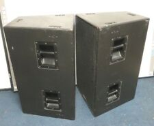 """Pair EAW Eastern Acoustic Works SB600e Dual 15"""" Subwoofer"""