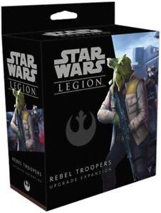 Star Wars Legion - Rebel Troopers - Upgrade Expansion - Unpainted Miniature