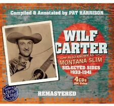 Wilf Carter - Montana Slim 1933-1941 [New CD] Boxed Set