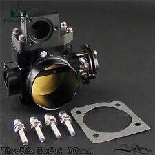 Brand New 70mm Throttle Body for Mitsubishi EVO 7 8 9 4G63 03-07 Black