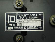 Square D Tab Weld Field Discharge Resistor 6715TW37F , Used , (ER)