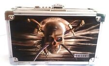 Vaultz Pirates of the Caribean Assemble 3D Embossed Metal Locking Pencil Box