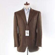 Ermenegildo Zegna Sakko Jacket 100% Kaschmir Cashmere Braun Brown Su Misura CLAS
