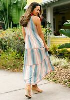 Womens Matilda Jane Lets go together Sunset Season Dress size large NWT