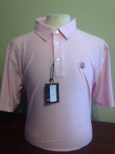 NWT Straight Down Dodge Polo Golf Shirt Men's Size XL or 2XL Pink S328 w logo