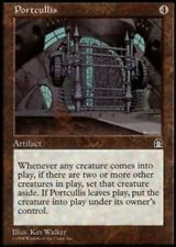 MTG magic cards 1x x1 Light Play, English Portcullis Stronghold