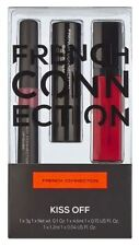 French Connection Kiss off Lip Xmas Gift Set Of 3 Lip Glosses