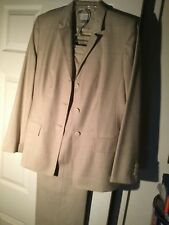 ANN TAYLOR LOFT Beige 2 Piece Pant Suit Business Career Interview Size 6