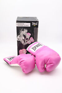 NEW Everlast Advanced Training Boxing Gloves - PINK - Adult / Teen Size 12OZ
