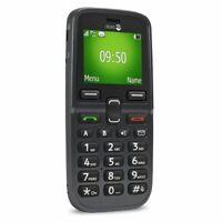 New Doro PhoneEasy 5030 Black SOS Assistance Big Button Torch Unlocked Phone