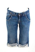 Schumacher Shorts Taille M Jeans-Short Pantalon Court Denim Pants