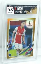New listing 2020-21 Topps Chrome Champions League Anthony Gold Refractor RC /50 HGA 9.5 GM