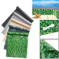 0.75m*6m Balkonsichtschutz Balkonbespannung Windschutz Sichtblende Balkonstoff