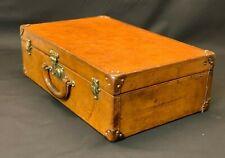 Beautiful Vintage Leather Louis Vuitton Suitcase