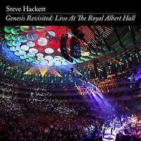 STEVE HACKETT - GENESIS REVISITED: LIVE AT THE ROYAL ALBERT HALL 2 CD + DVD NEU