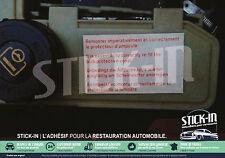 Autocollants Stickers Renault Clio Williams 16S Protecteur Ampoule DA Bocal 16V
