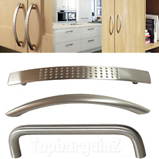 Cabinet Handles Kitchen Cupboard Door Drawer Polished Chrome Boss Bar Bow Handle