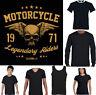 Motorcycle Legendary Riders Biker T-Shirt Motorbike Bike Cafe Racer Custom