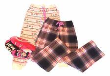 Lot of So Juniors Size Small LOVE Plaid Pajama Pants Socks Lot Set NEW FREE SHIP