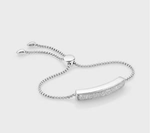 Monica Vinader Baja Diamond bracelet. Bankrupt stock RRP £950 / 99p Start!