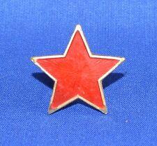 Soviet Russian Army COCKADE CAP BADGE Red STAR