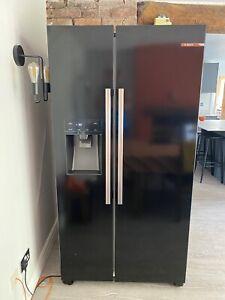 Bosch KAD93VBFPG 90cm Black American Fridge Freezer