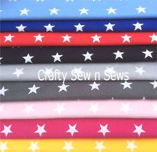 Cotton Poplin Fabric / Material - Star Fabric