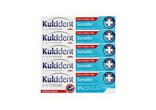 5x KUKIDENT SUPER detenzione CREMA eticheculturalmente gusto neutro detenzione protezione protesi 40g