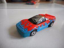 Matchbox Burnin Key Cars Ferrari in Orange/Blue