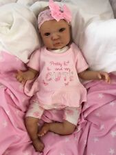 "REBORN DOLL BABY GIRL SHYANN REALISTIC 20"" REAL LIFELIKE CHILDS EYES HAIR VEINS"