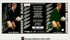 1995 Dynamic ALL BLACK Signature H4: John Kirwan (Redemp +Sign + Certificate)