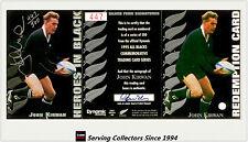 1995 Dynamic ALL BLACK Signature H4: John Kirwan (Redemp +Sign + Certificate)
