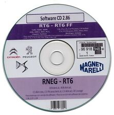 Aggiornamento firmware sistema multimediale Peugeot - Citroen  - v. 2.86 su cd