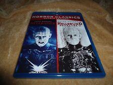 Horror Classics: (Hellraiser / Hellbound: Hellraiser 2) (1987/1988) [2 Disc BD]
