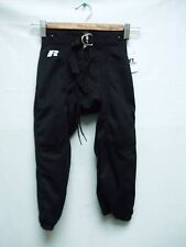 Youth Football Pants Practice Polyester Black Snaps Branded New