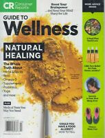Consumer Reports Guide to Wellness July 2019 Natural Healing