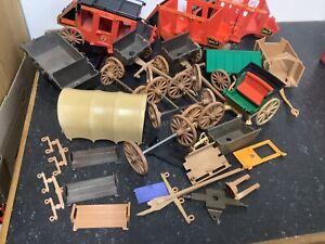 Playmobil Ersatzteile Von Kutschen Einige Defekte Vorhanden , Bilder Ansehen!