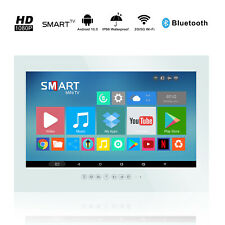 New 22-inch Wifi Toilet Waterproof LCD TV White TV Android System10.0
