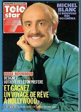 ►TELE STAR 446/1985 - M.BLANC - SYLVIA KRISTEL - MIKE BRANT - PETER ET SLOANE