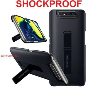 Genuine Samsung Cover Galaxy A80 smart phone back case with stand ing protective