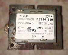 Amana Goodman Transformer 110 24 vac B1141600 PB1141600 (Used) B0