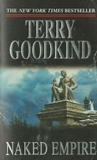 The Sword of Truth: NAKED EMPIRE Bk 8 by Terry Goodkind - PB
