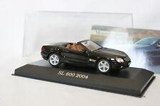 Ixo Stampa 1/43 - Mercedes SL 600 2004 nero