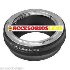 -adapter OBJEKTIVEN Konica AR   A SONY NEX3 NEX5 NEX-7 NEX-5N 5R 5C NEX-C3 VG