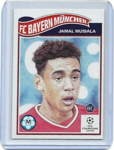 TOPPS UCL LIVING SET JAMAL MUSIALA CARD NO 248